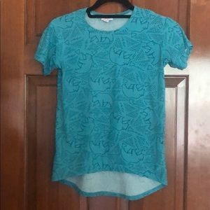 Girls LuLaRoe bear shirt